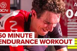 60 minute endure cycle workout