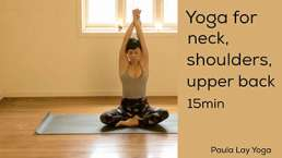 Yoga for neck shoulder upper beck