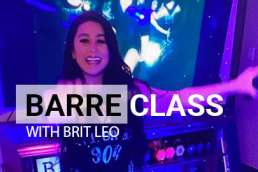 Free Barre class with wine