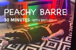 peachy barre workout 30 minutes
