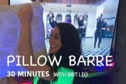booty pillow barre class