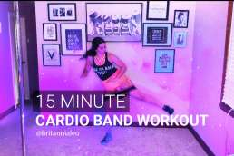 resitance band cardio workout