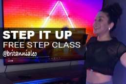 free step class from brit