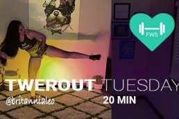 twerkout workout tuesday